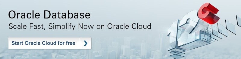 Start Oracle Cloud for free