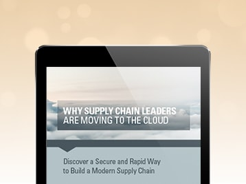Read Why Supply Chain Leaders Are Moving to the Cloud