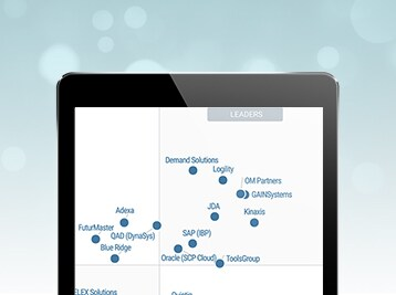 Find out why Oracle is named a leader in the Gartner MQ Supply Chain Planning System of Record