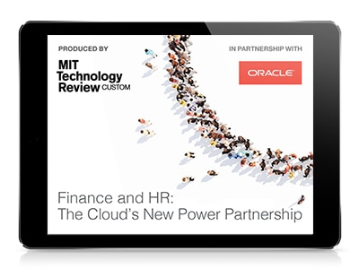 Finance and HR: The Cloud's New Power Partnership