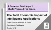 The Total Economic Impact of Oracle Business Intelligence Applications