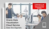 Oracle Data Visualization Cloud Service: 신호 보기