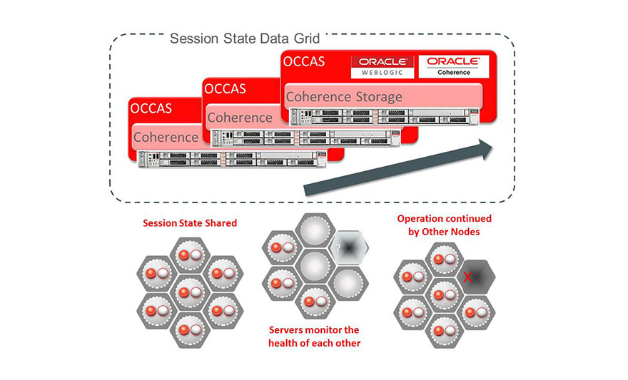 Extreme high performance and carrier-grade availability using cutting-edge Oracle Coherence in-memory data grid technology.