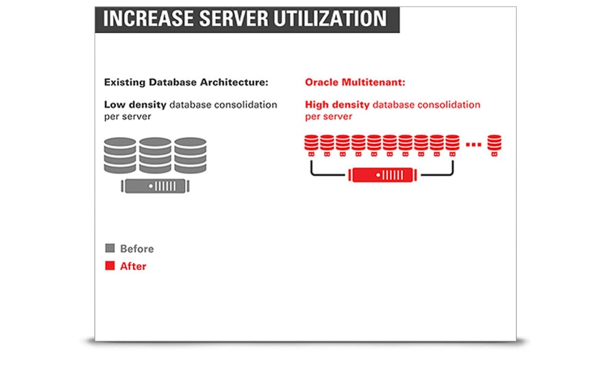 Consolidating oracle databases