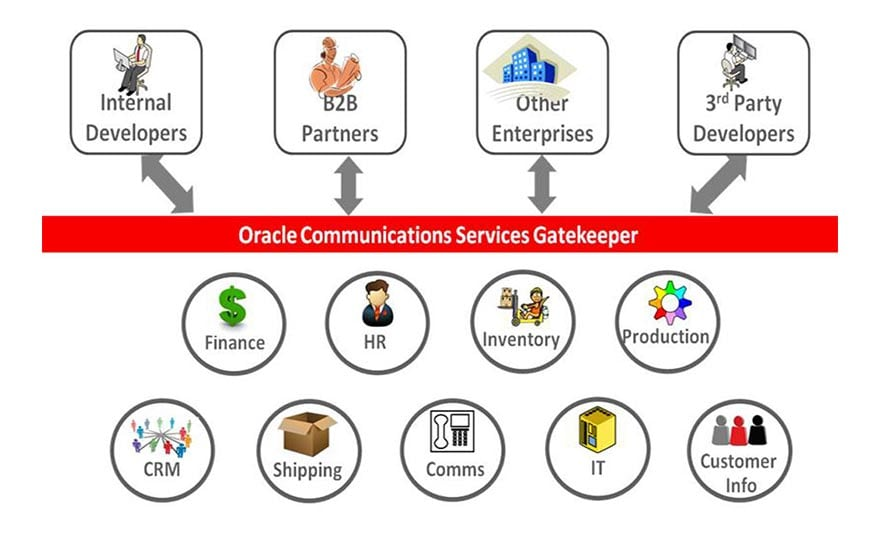 Oracle Communications Services Gatekeeper's API Management capabilities enable the transformation to a Programmable enterprise.