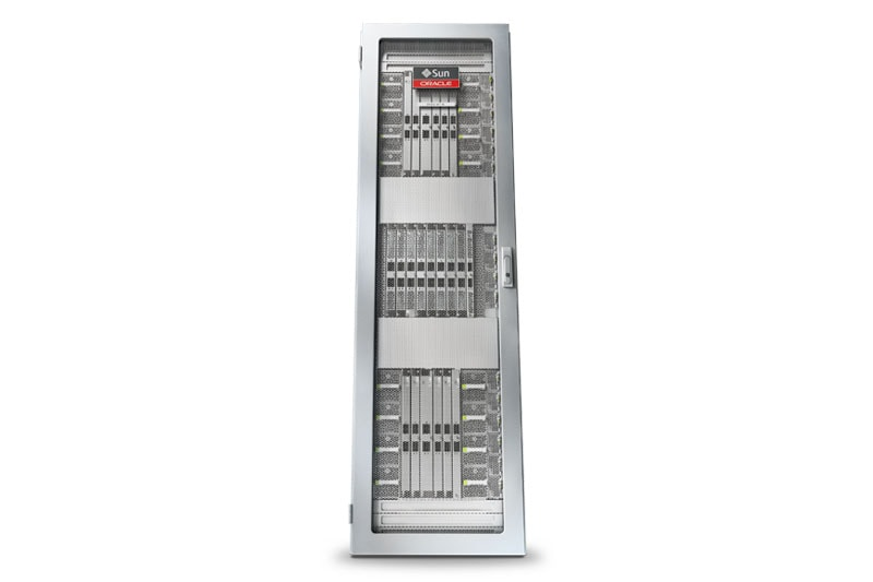 Oracle's SPARC M7-8 Server front face view