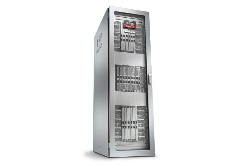 Oracle's SPARC M7-8 Server front right view