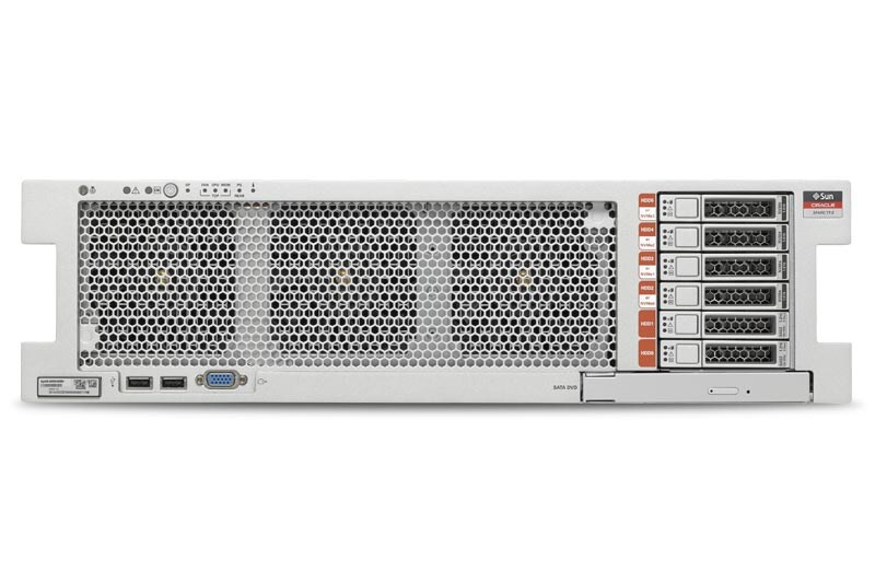 SPARC T7-2 Server top right angle view
