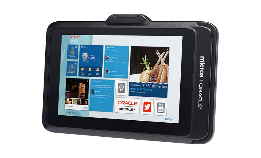 MICROS Tablet 700 Series Screen Shot 1