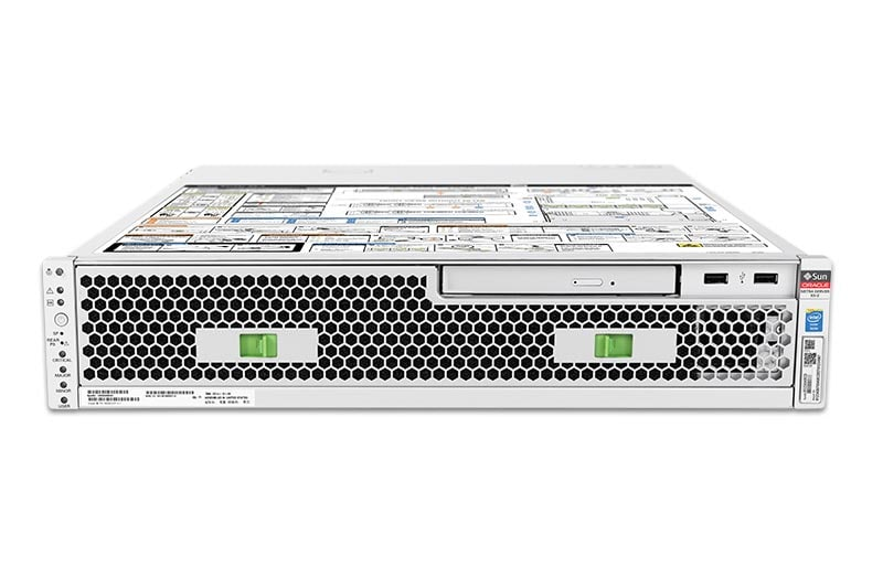 Netra Server X5-2, front, top view
