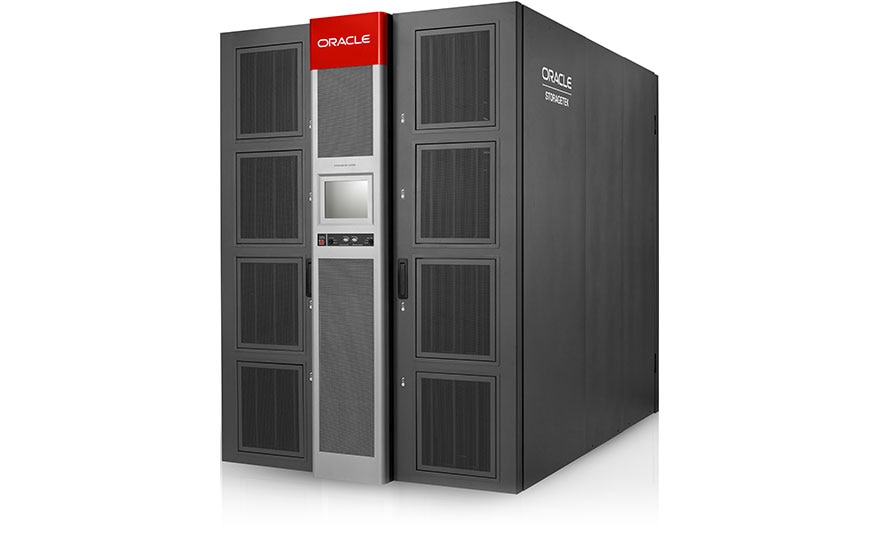 Oracle Storagetek Sl8500 Front Right View