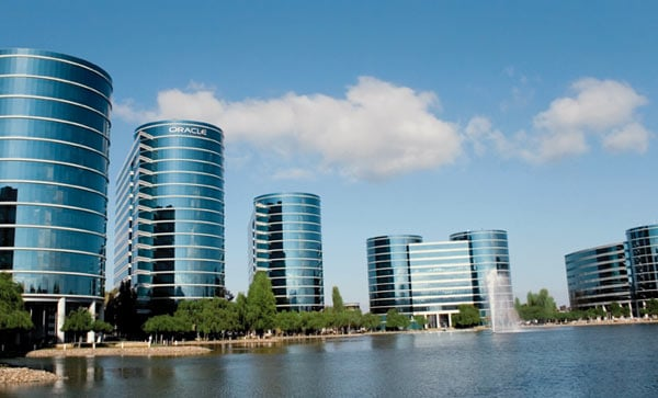 Oracle headquarters in Silicon Valley