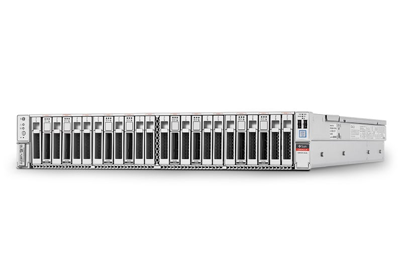 Oracle Server X6-2L left side view