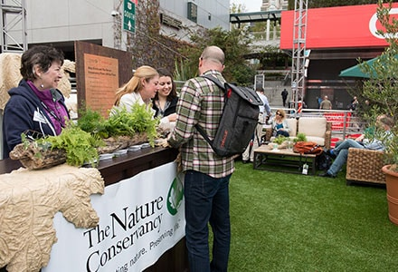 Planting a Million Trees with The Nature Conservancy