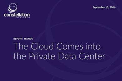Bringing Cloud to the Private Data Center