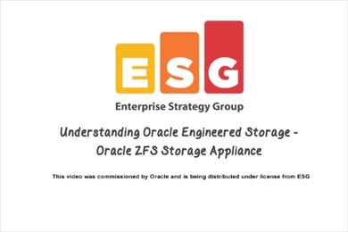 Quick Value Video on Oracle ZFS Storage Appliance