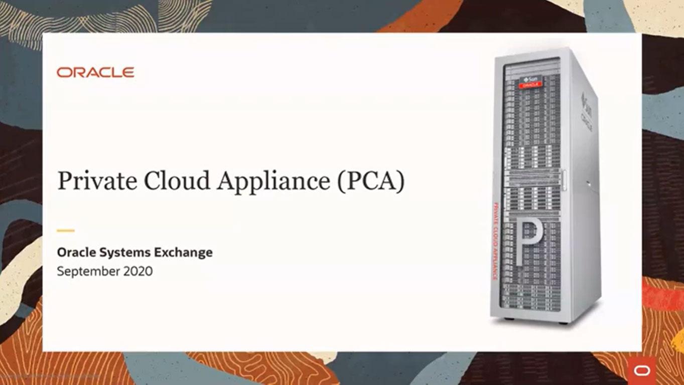Oracle Systems Exchange: Transformación es PCA