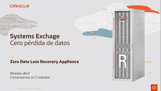 Oracle Systems Exchange: Sin pérdida de datos