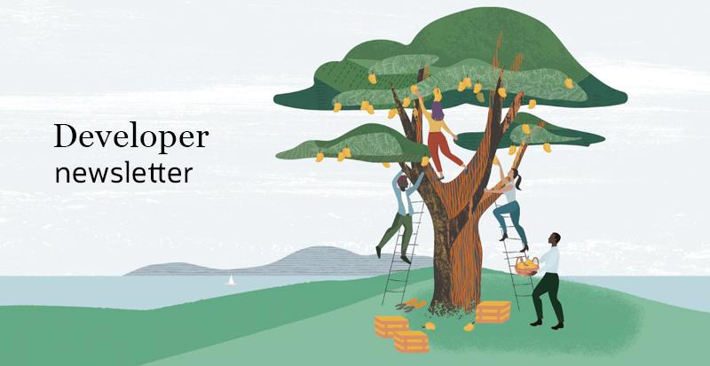 Developer Newsletter Banner Image