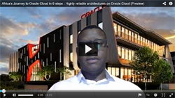 Highly reliable architectures on Oracle Cloud Video