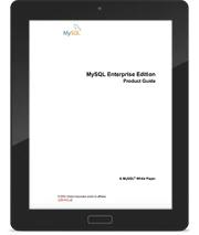 MySQL Enterprise Edition Product Guide