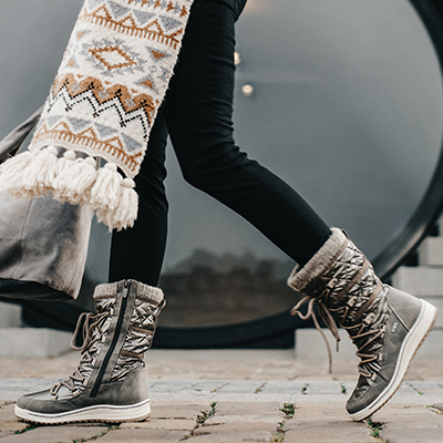 Best foot forward - image