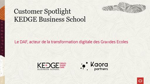 Le DAF, acteur de la transformation digitale des Grandes Ecoles