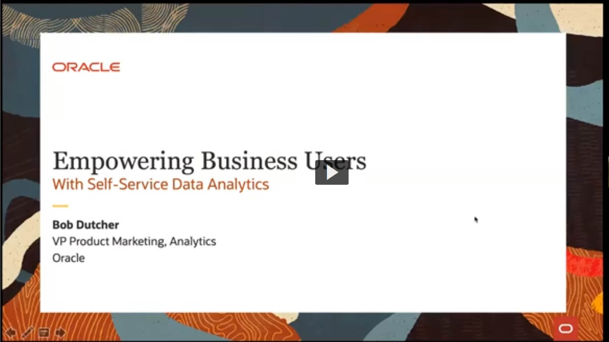 Empowering Business Users with Self-Service Analytics