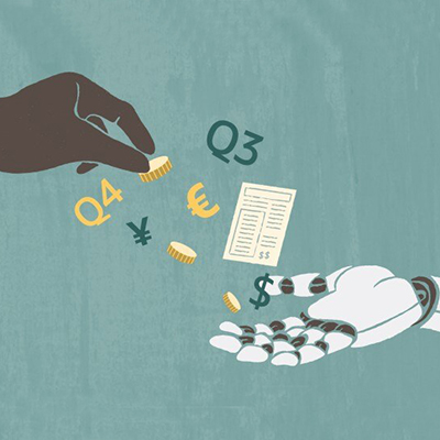 Robot finances - image