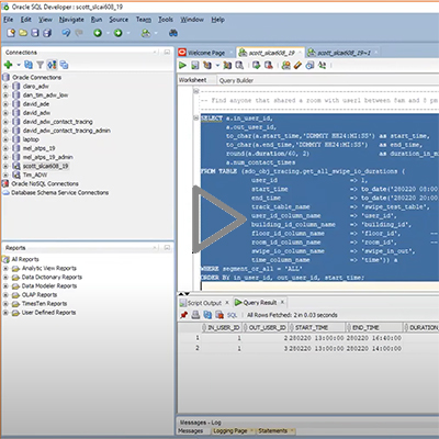 Contact tracing with Oracle Application Express (APEX) - image