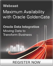 Webcast: Maximum Availability with Oracle GoldenGate