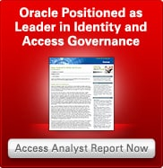 Oracle Positioned as Leader in Identity and Access Governance