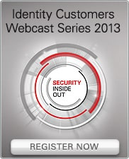 Identity Customers Webcast Series 2013