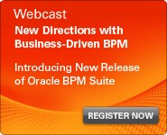 Webcast: New Directions with Business-Driven BPM
