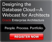 Designing the Database Cloud - A Webcast for Architects