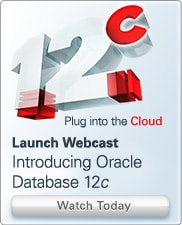 Launch Webcast: Introducing Oracle Database 12c