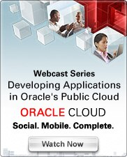 Webcast Series: Developing Applications in Oracle's Public Cloud - Watch Now