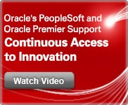 Continuous Access to Innovation - Oracle PeopleSoft and Oracle Premier Support