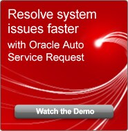 Resolve system issues faster with Oracle Auto Service Request