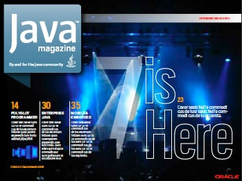 Java Magazine Cover