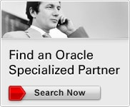 Find an Oracle Specialized Partner