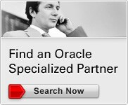 Oracle PartnerNetwork - Specialized Partners