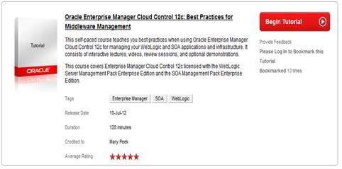 Oracle Enterprise Manager Cloud Control 12c: Best ...