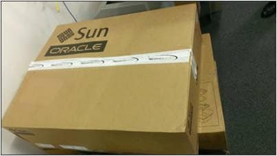 Oracle Database Appliance X3-2 comes in 3 large boxes