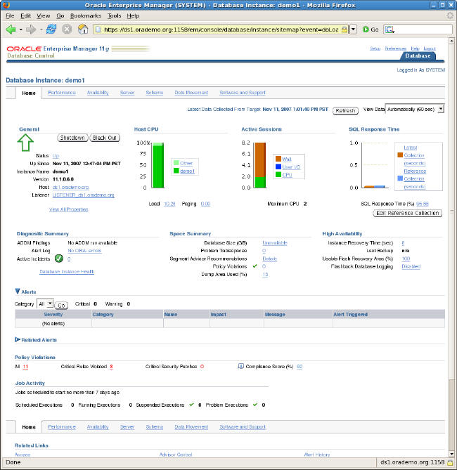 Installing Oracle Database 11g Release 1 on Oracle Enterprise Linux 5