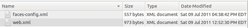 Figure 17: Java EE WEB-INF/lib directory