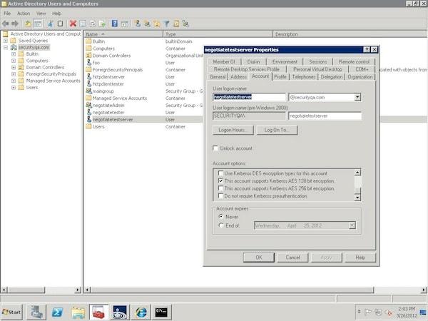 Kerberos protocol encountered error while validating kdc certificate