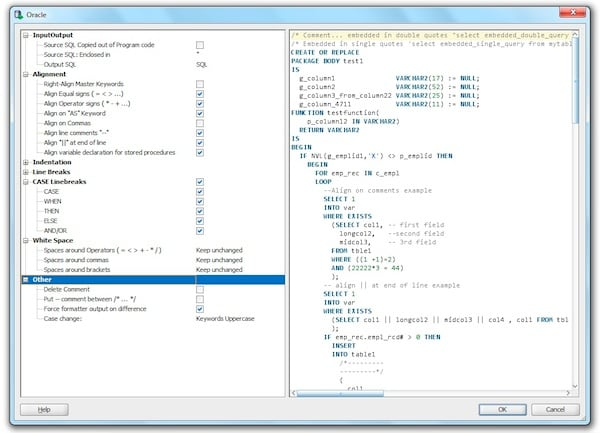 exploring oracle sql developer