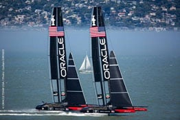 ORACLE TEAM USA: Extreme Sailing