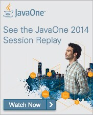 JavaOne 2014 Replay banner